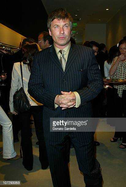 Alec Baldwin during Cerruti and David Cardona CoHost Private Party to Celebrate the Opening of Cerruti Beverly Hills Benefiting OPCC at Cerruti Store...