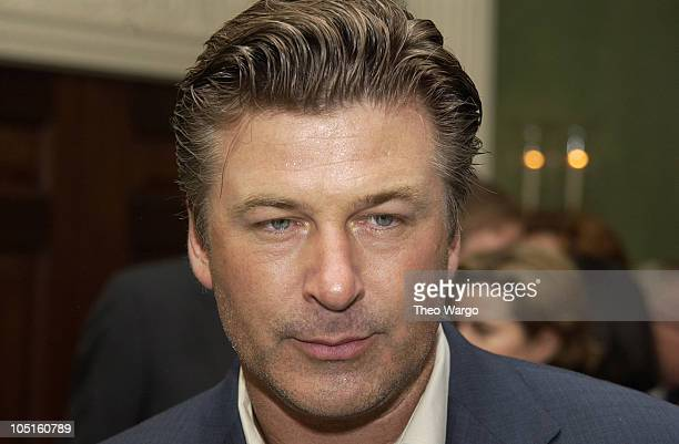 Alec Baldwin during CNBC Hosts Reception to Celebrate Tina Brown and David Faber Primetime Specials at The Georgian Suite in New York City New York...