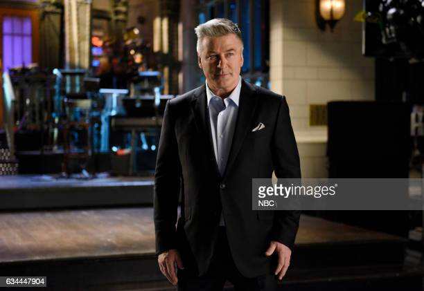 LIVE Alec Baldwin Episode 1718 Pictured Host Alec Baldwin in Studio 8H on February 7 2017