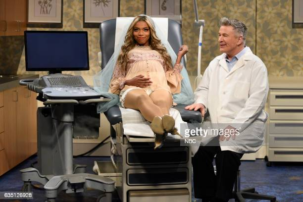 LIVE Alec Baldwin Episode 1718 Pictured Sasheer Zamata as Beyoncé and host Alec Baldwin as a doctor during the Beyoncé's Babies sketchon February 11...