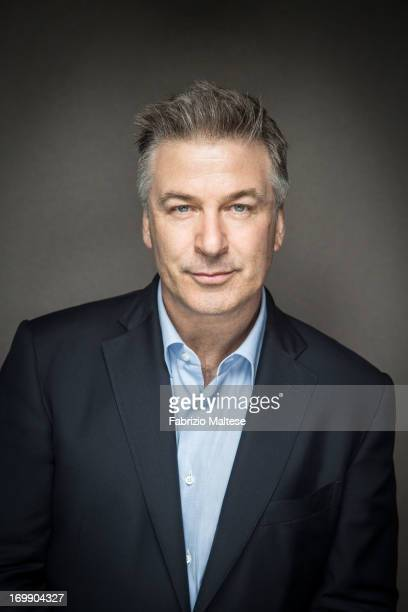 Alec Baldwin is photographed for The Hollywood Reporter on May 30 2013 in Cannes France