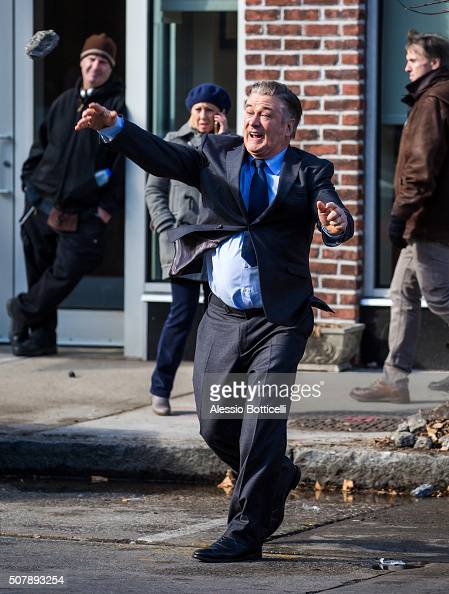 Alec Baldwin Is Seen Filming Drunk Parents On February 1 2016 In News Photo Getty Images