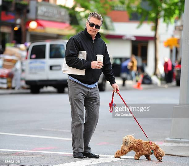 Alec Baldwin is seen in the West Village on May 13 2013 in New York City