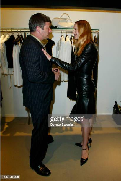 Alec Baldwin Kelly Lynch during Cerruti and David Cardona CoHost Private Party to Celebrate the Opening of Cerruti Beverly Hills Benefiting OPCC at...