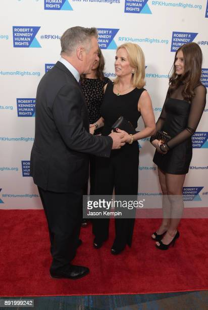 Alec Baldwin Kerry Kennedy and Michaela Kennedy Cuomo attend Robert F Kennedy Human Rights Hosts Annual Ripple Of Hope Awards Dinner on December 13...