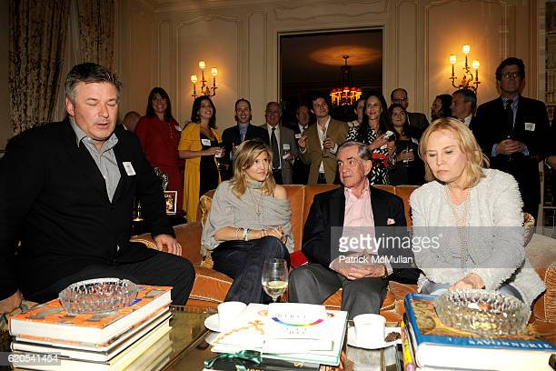 Alec Baldwin, Marissa Bregman, Marty Bregman and Cornelia Sharpe Bregman attend MICHELE and LAWRENCE HERBERT Kickoff Party For The NYU Tisch School...