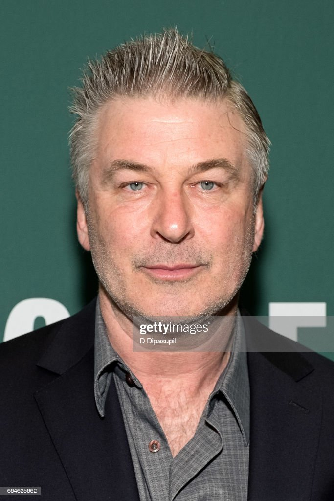 "Alec Baldwin Signs Copies Of His New Book ""Nevertheless: A Memoir"""