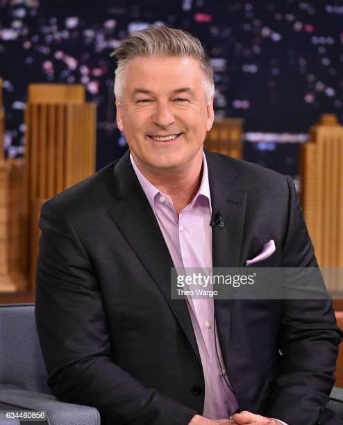 Alec Baldwin Visits The Tonight Show Starring Jimmy Fallon at Rockefeller Center on February 9 2017 in New York City