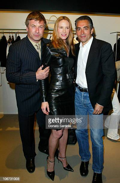Alec BaldwinKelly Lynch Mitch Glazer during Cerruti and David Cardona CoHost Private Party to Celebrate the Opening of Cerruti Beverly Hills...
