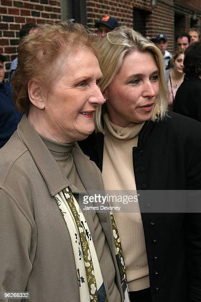 Alec Baldwin's mother and sister