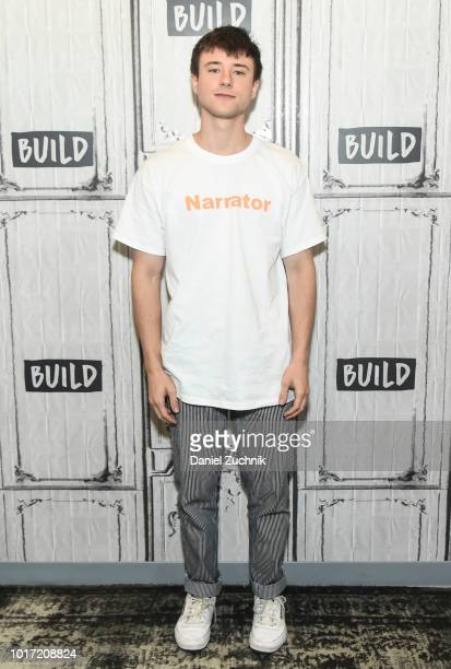 Alec Benjamin attends the Build Series to discuss his new tour at Build Studio on August 15 2018 in New York City