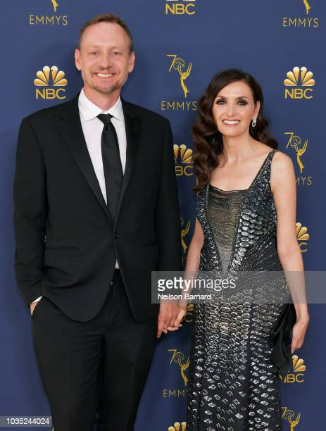 Alec Berg and Michele Maika attend the 70th Emmy Awards at Microsoft Theater on September 17 2018 in Los Angeles California