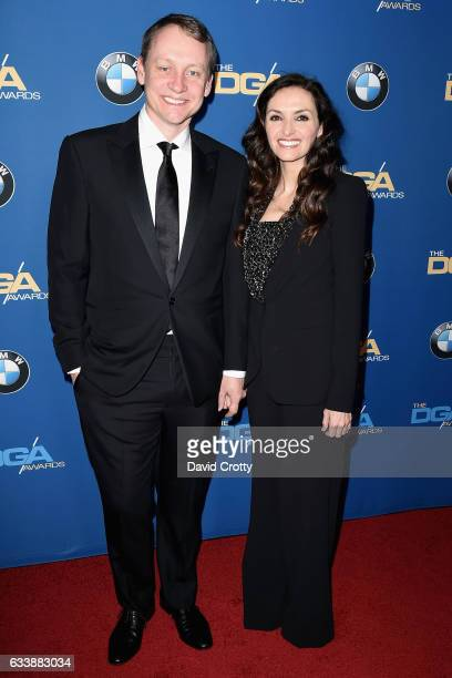 Alec Berg and Michele Maika attends the 69th Annual Directors Guild Of America Awards Arrivals at The Beverly Hilton Hotel on February 4 2017 in...