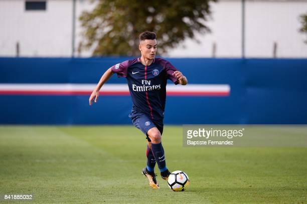 Alec Georgen of Paris Saint Germain during the National 2 match between Paris Saint Germain B and Chasselay on September 2nd 2017 in Paris France
