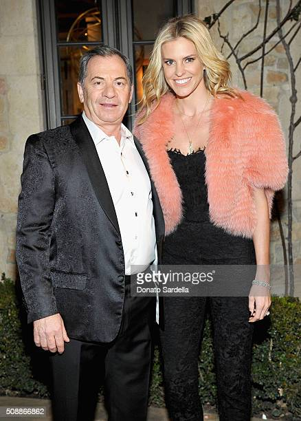 Alec Gores and actress Kelly Noonan attend the PSLA Winter Gala on February 6 2016 in Beverly Hills California