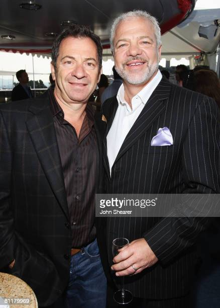 Alec Gores and Paradigm's Sam Gores attend the Paradigm Agency Party held on the Bud Light Yacht during the 61st Cannes Film Festival on May 18 2008...