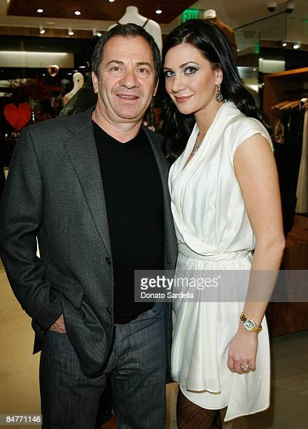 Alec Gores and Rochelle Gores attend the Neil Lane for Arcade by Rochelle Gores unveiling on February 12 2009 in West Hollywood California