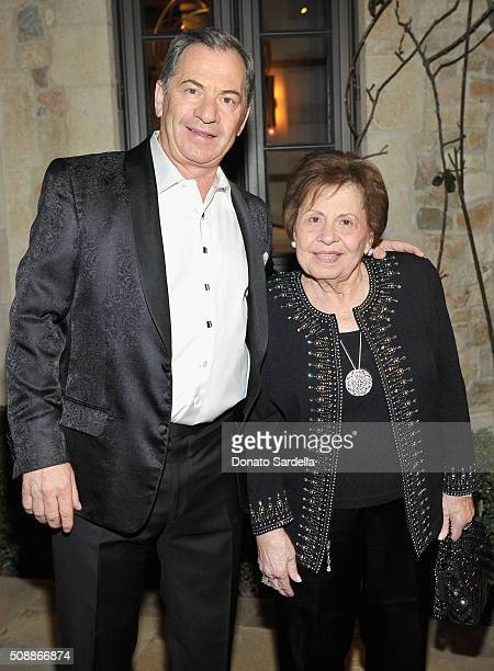 Alec Gores and Tata Gores attend the PSLA Winter Gala on February 6 2016 in Beverly Hills California