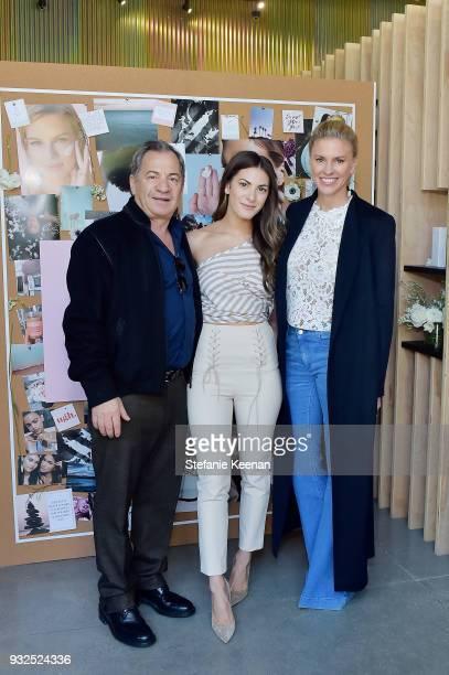 Alec Gores Lauren Gores Ireland and Kelly Gores attend Summer Fridays Skincare Launch With Marianna Hewitt Lauren Gores Ireland at Hayden on March 15...