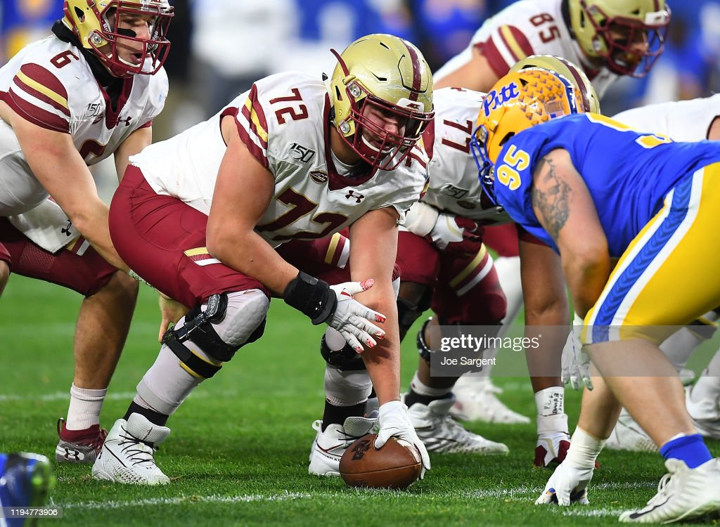 Boston College v Pittsburgh : News Photo