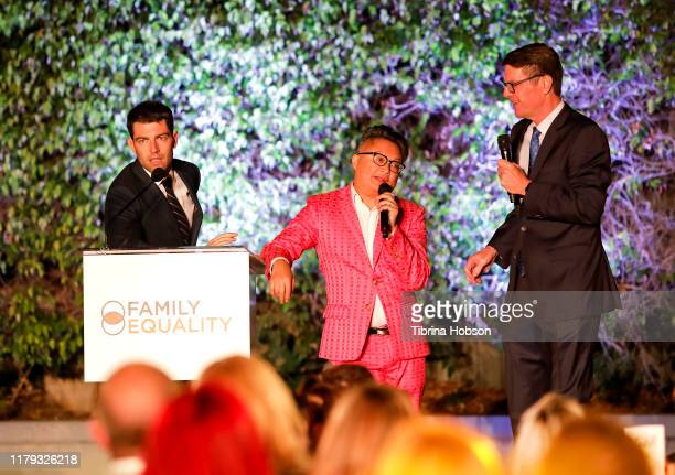Alec Mapa and Max Greenfield host the Family Equality Los Angeles Impact Awards 2019 at a Private Residence on October 05, 2019 in Los Angeles,...