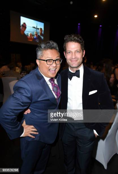 Alec Mapa and Nate Berkus attend Family Equality Council's Impact Awards at the Globe Theatre, Universal Studios at The Globe Theatre at Universal...