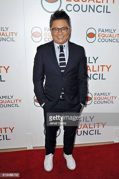 Alec Mapa arrives at the Family Equality Council's Impact Awards at The Beverly Hilton Hotel on March 12 2016 in Beverly Hills California