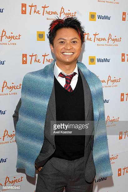 Alec Mapa arrives at the Trevor Project's 10th Annual Cracked XMas Show and Gala at the Wiltern Theater