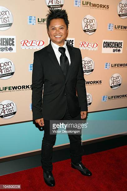 Alec Mapa arrives at We Are Golden Benefit Concert at Arena Nightclub on September 27 2010 in Los Angeles California