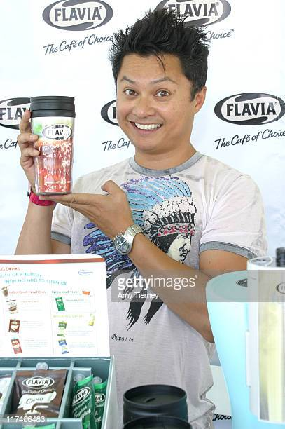 Alec Mapa during FLAVIA at 2006 Silver Spoon Emmy Suite - Day 1 at Wattles Mansion in Los Angeles, California, United States.