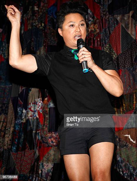 Alec Mapa hosts Heel Hate Benefit For Matthew Shepard Foundation And NOH8 Campaign at House of Blues Sunset Strip on January 12 2010 in West...