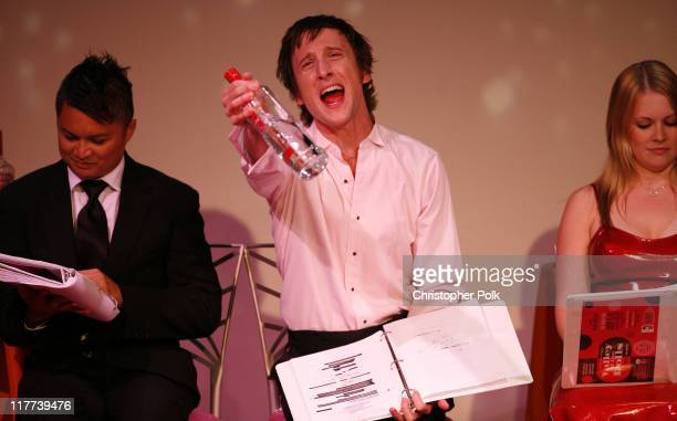 """Alec Mapa, Jack Plotnick and Melissa Joan Hart during """"Valley of the Dolls"""" Reading and DVD Debut - Show and After Party at Renberg Theater in..."""