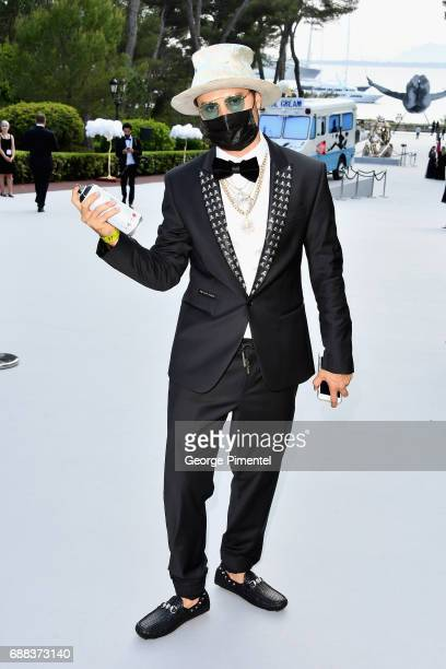 Alec Monopoly attends the amfAR Gala Cannes 2017 at Hotel du CapEdenRoc on May 25 2017 in Cap d'Antibes France