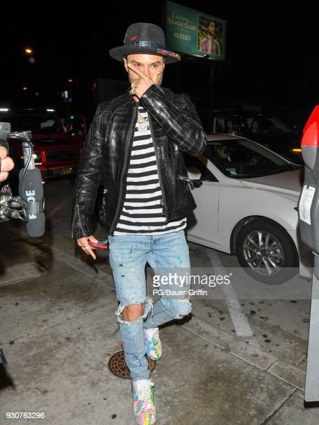 Alec Monopoly is seen on March 11 2018 in Los Angeles California