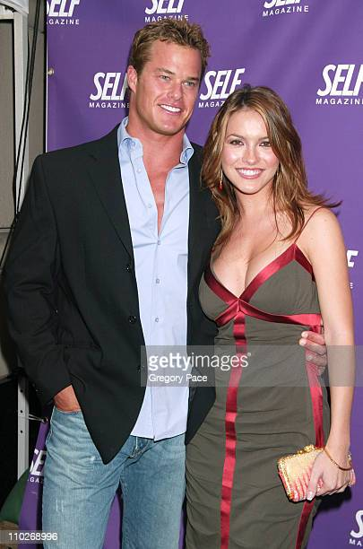 Alec Musser the winner of SOAPnet's 'I Wanna Be a Soap Star 2' and now on 'All My Children' and Chrishell Stause on the soap opera 'All My Children'