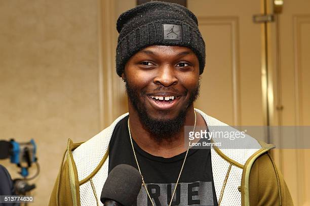 Alec Ogletree of the Los Angeles Rams attends the Los Angeles Rams Media Availability on March 4 2016 in Manhattan Beach California