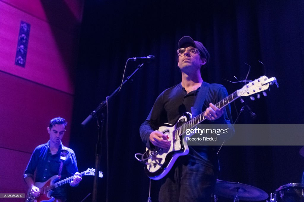 Clap Your Hands Say Yeah! Perform At CCA, Glasgow : News Photo