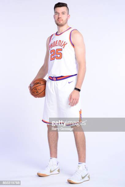 Alec Peters of the Phoenix Suns poses for a portrait at the Talking Stick Resort Arena in Phoenix Arizona NOTE TO USER User expressly acknowledges...