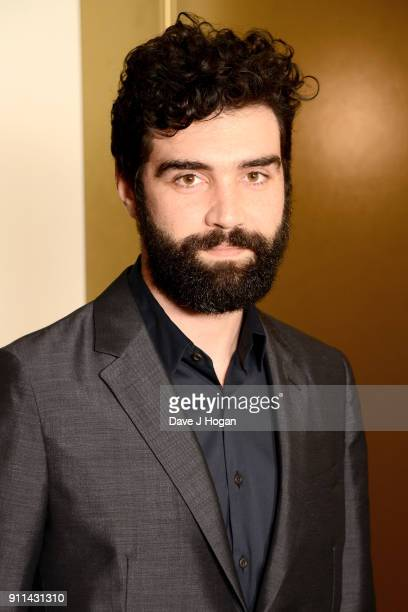 Alec Secareanu attends London Film Critics' Circle Awards 2018 at The Mayfair Hotel on January 28 2018 in London England