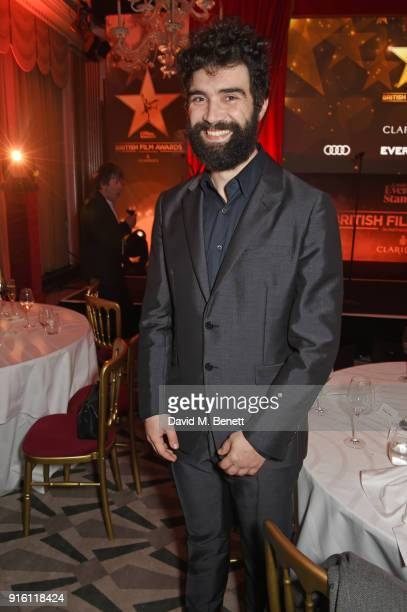 Alec Secareanu attends the London Evening Standard British Film Awards 2018 at Claridge's Hotel on February 8 2018 in London England