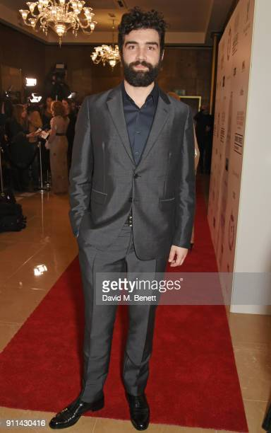 Alec Secareanu attends the London Film Critics' Circle Awards 2018 at The May Fair Hotel on January 28 2018 in London England