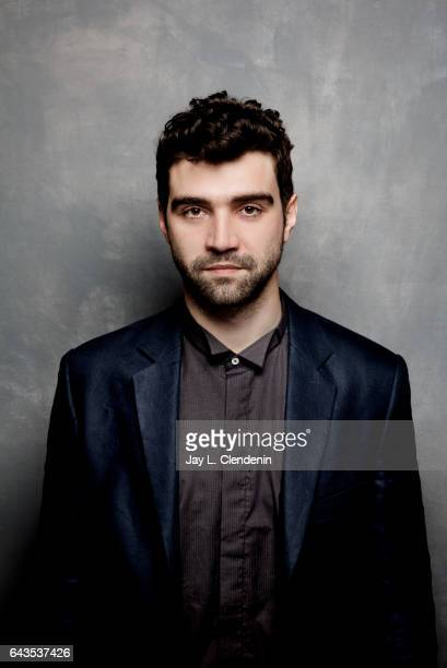 Alec Secareanu from the film God's Own Country is photographed at the 2017 Sundance Film Festival for Los Angeles Times on January 23 2017 in Park...