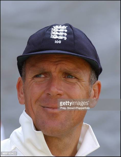 Alec Stewart during his last Test match for England against South Africa at The Oval 4th September 2003 Stewart played 133 Tests for England from...