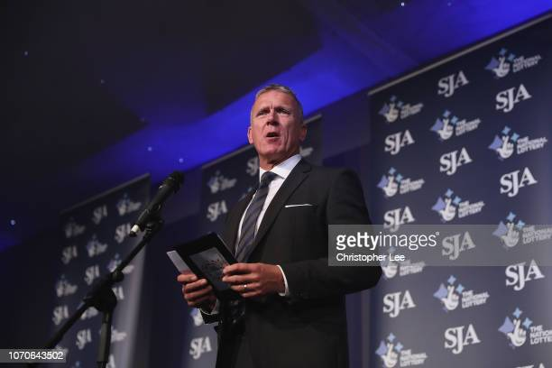 Alec Stewart during The SJA British Sports Awards 2018 at Tower of London on December 6, 2018 in London, England.