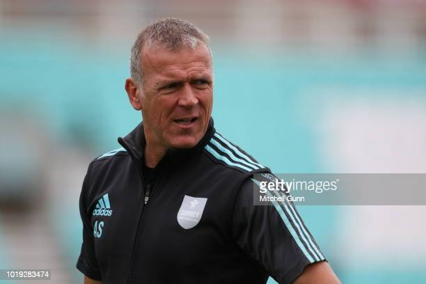 Alec Stewart Head Coach of Surrey during day one of the Specsavers County Championship match between Surrey and Lancashire at The Kia Oval Cricket...