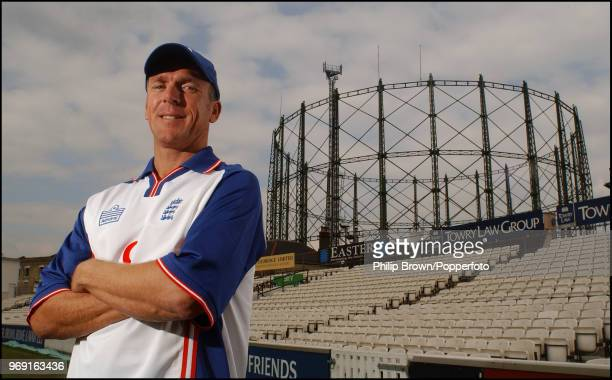 Alec Stewart of Surrey and England before his 133rd and final Test match for England, against South Africa at The Oval, 2nd September 2003.