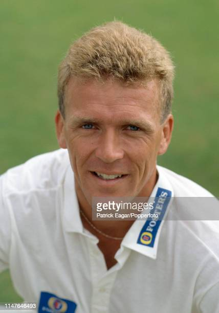 Alec Stewart of Surrey before the Benson and Hedges Cup Semi Final between Kent and Surrey at St Lawrence Ground, Canterbury, 10th June 1992.