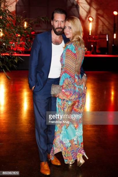 Alec Voelkel and his wife Johanna Voelkel attend the Dreamball 2017 at Westhafen Event Convention Center on September 20 2017 in Berlin Germany