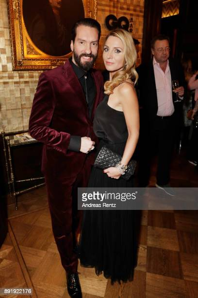Alec Voelkel and his wife Johanna Voelkel attend the GQ Bar opening at Patrick Hellmann Schlosshotel on December 13 2017 in Berlin Germany