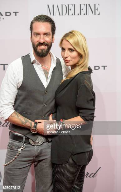 Alec Voelkel and Johanna Voelkel attend the Tribute To Bambi at Station on October 5 2017 in Berlin Germany